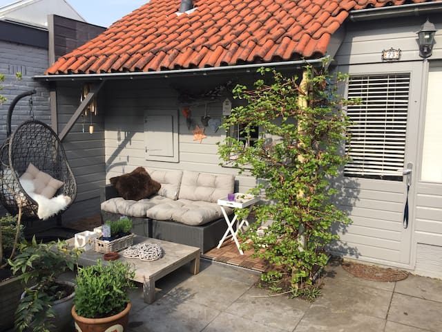 cottage, parking, airport-transport - Aalsmeer - Cabaña