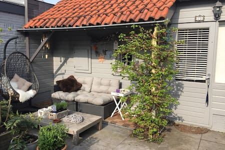 cottage, parking, airport-transport - Aalsmeer - Zomerhuis/Cottage
