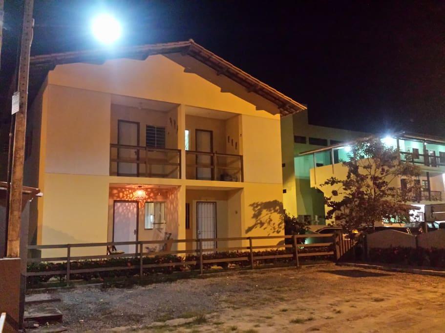 Condomínio Paraíso dos Corais, apartamento térreo à esquerda (varanda acessa).