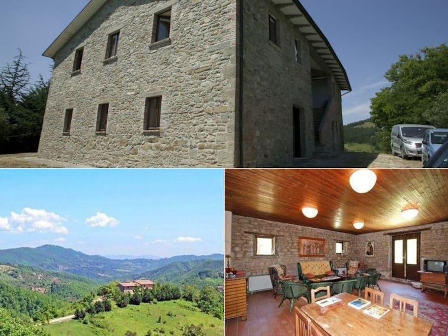 Esterno / panoramica / living area