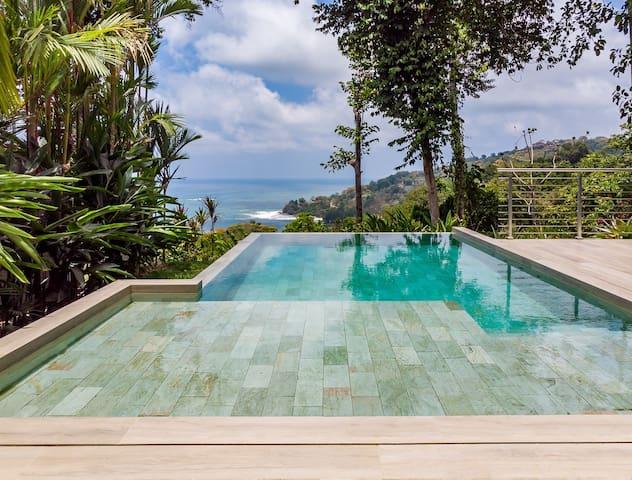 Villa Volare, Ocean view in Terraces at San Martin