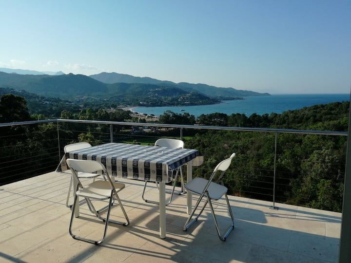 mini-villa Favone - 2 chambres, 2 salles d'eau