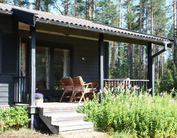 Relax in pure nature, north Sweden - Sollefteå - Cabin