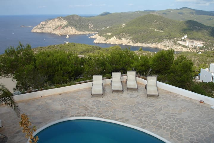Charming house with magnificent view of Na Xamena