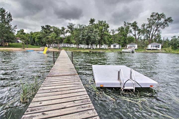 NEW! Lake Retreat w/ Dock, Deck & BBQ, BYO Boat!