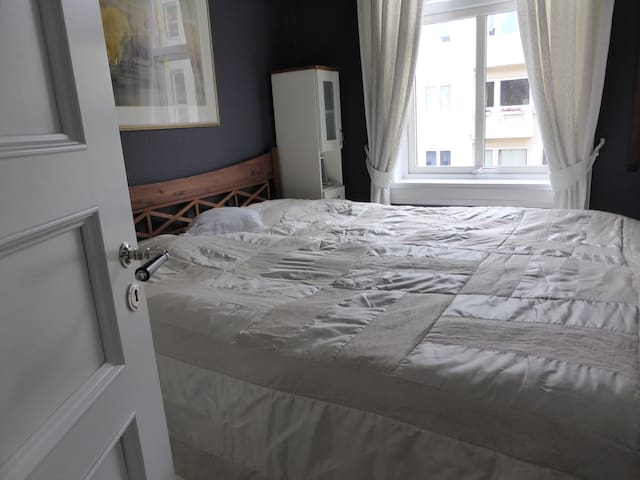 Room in upscale area of town. - Oslo - Flat