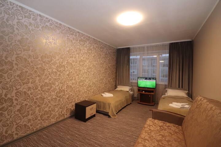 Уютная 2-комнатная квартира на Кирова, 54