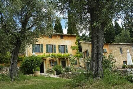 Authentic villa- large olive garden