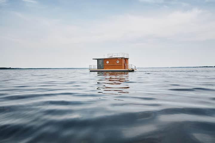 ohoi-Hausboot Mali