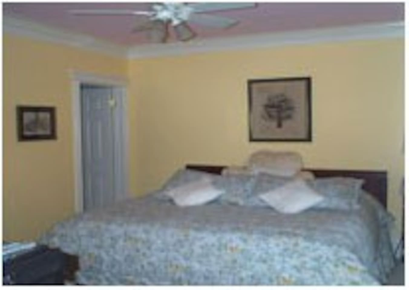 1 of 2 bedrooms (Queen and King, King may also be made into 2 twins)