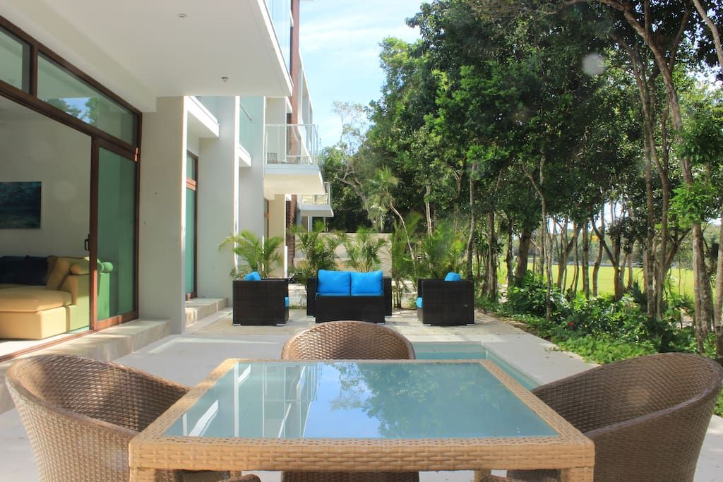 Huge Terrace with Private Pool