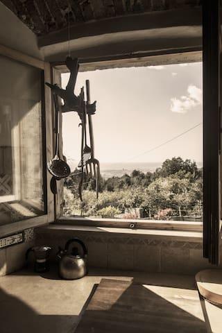 rustico sulle colline livornesi - Valle Benedetta - House