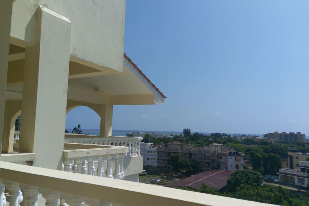 fantastic sea views from terrace