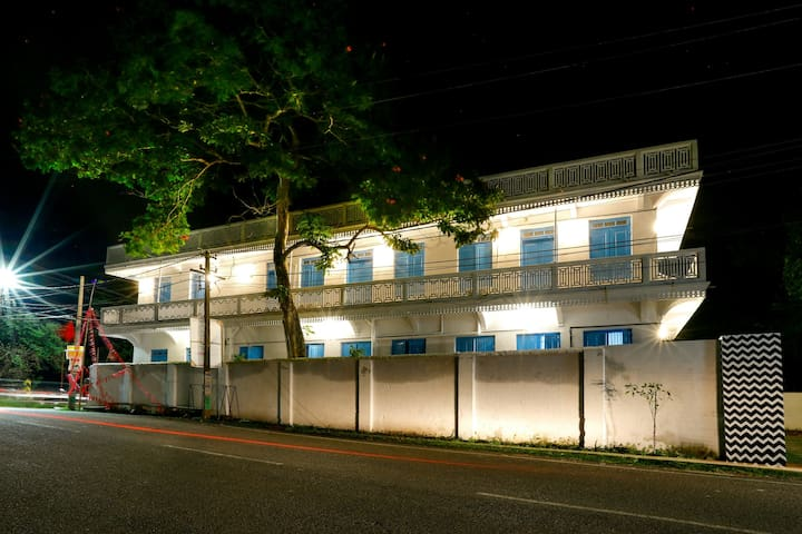 Art hostel in an heritage building