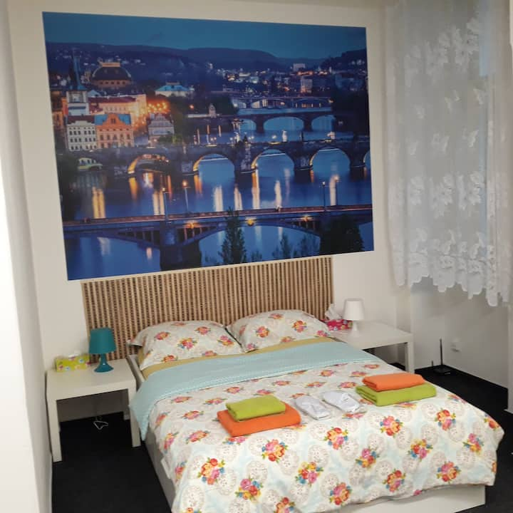 Cosy privat room in central Prague
