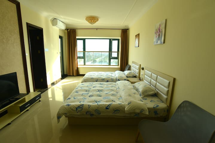 启东碧海蓝天假日公寓园区湖景房 - Nantong - Apartamento
