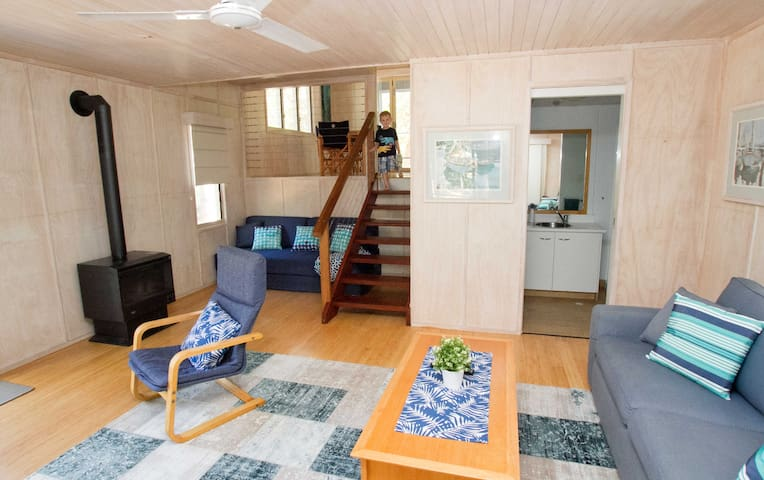 Couran Cove Banksia Forest 'Kites Nest' Eco Cabin - Couran Cove - Cabana