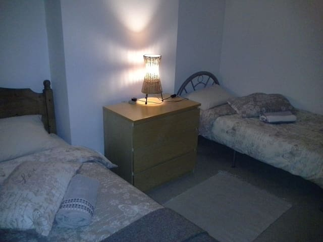 Twin room in spacious family house - Coventry - Talo