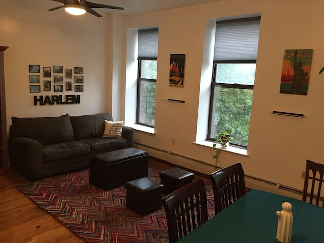 Sunny and Spacious!Awesome Central Harlem 2br