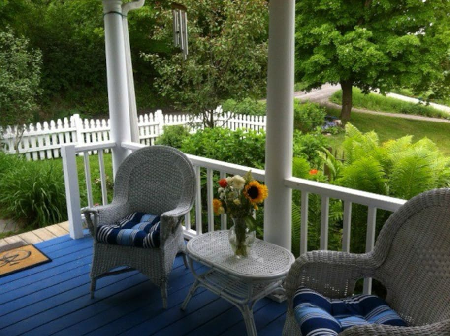 Or the porch!