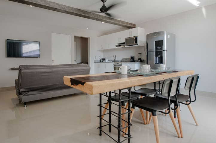 EXCLUSIVE FLAT IN THE CENTER OF PLAYA DEL CARMEN - Playa del Carmen - Apartment