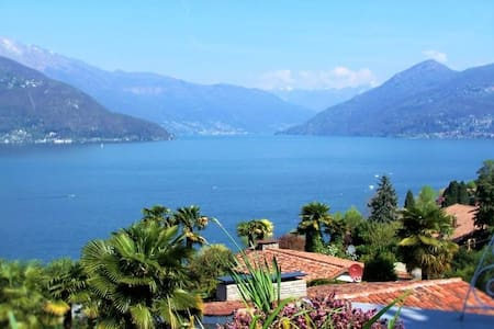 "Bijou Casa ""Gisela"" with fantastic view & terrace - Germignaga"
