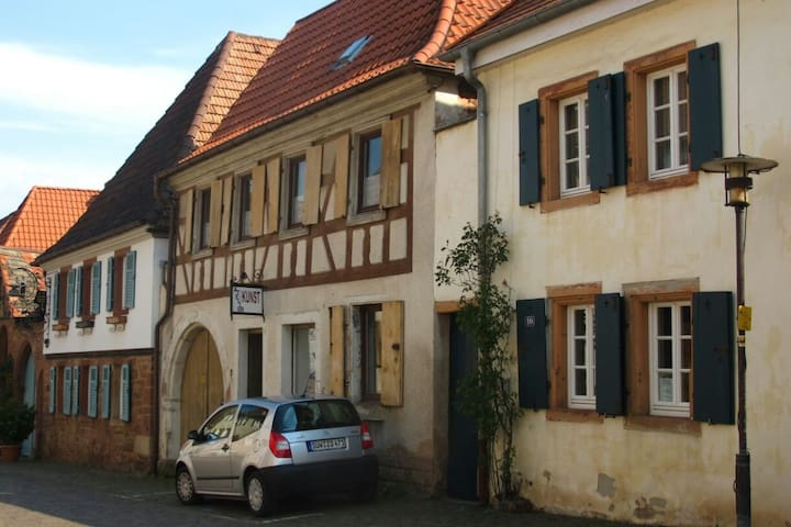 Charmante Ferienwohnung in altem Fachwerkhaus