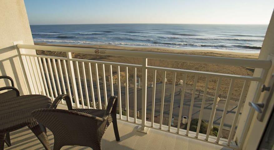 Ocean Sands Resort with a nice Oceanfront Balcony