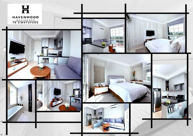Havenwood Residence 1 Bedroom (4) - Pasar Minggu - Wohnung