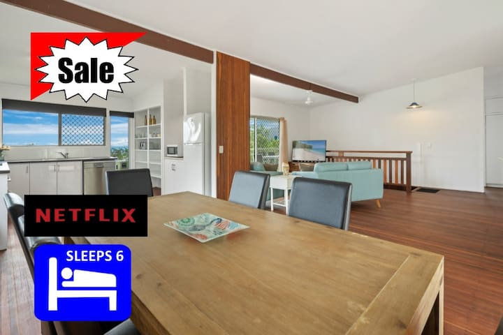 ❤️SALE ❤️ AIRLIE BEACH CENTRAL HOUSE ❤️WIFI❤️