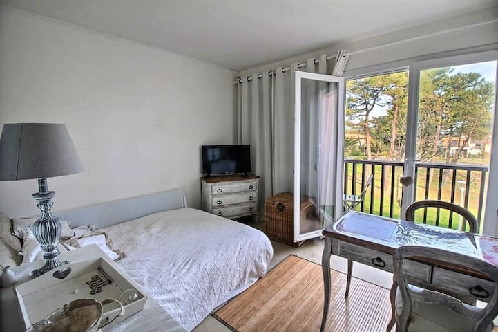 Pretty studio full equipped at 500m from the beach - Mimizan - Leilighet