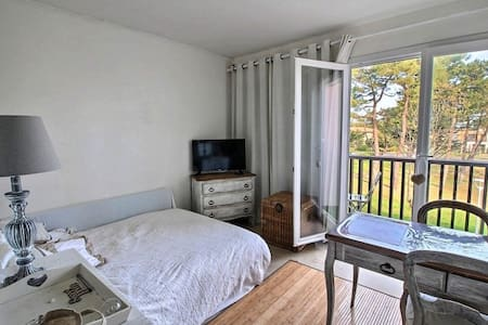 Pretty studio full equipped at 500m from the beach - Mimizan - 公寓