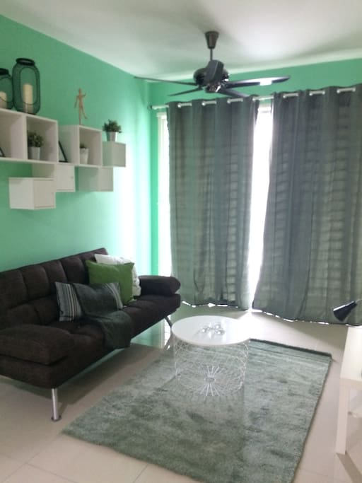 Living Room + Sofa Bed