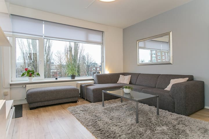Modern 2-bedroom apartment near city centre & UMCG
