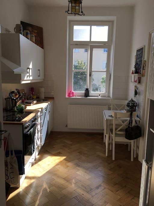 Schöne kleine Wohnküche