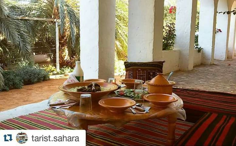 Maison d'Hôte TARIST Sahara