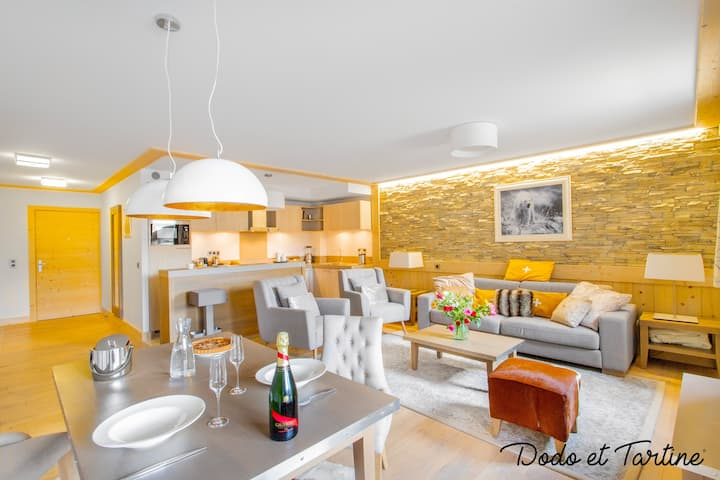 Luxury flat at the foot of slopes Courchevel 1550 - Dodo et Tartine