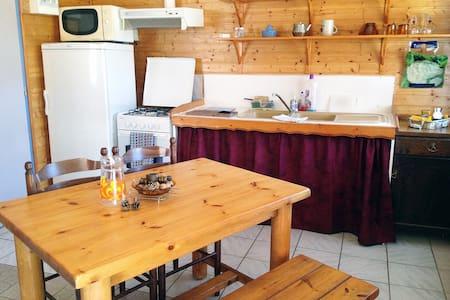 Charmant appartement dans chalet - Les Vigneaux - Apartment
