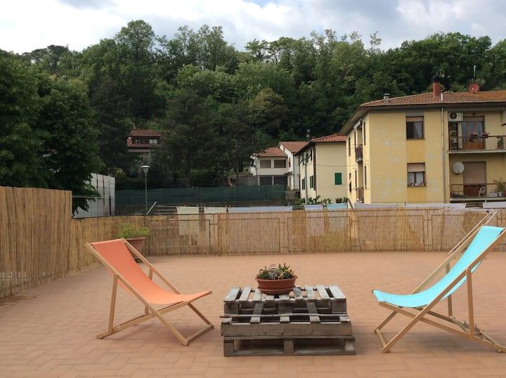 Large and comfortable house on The Via degli Dei