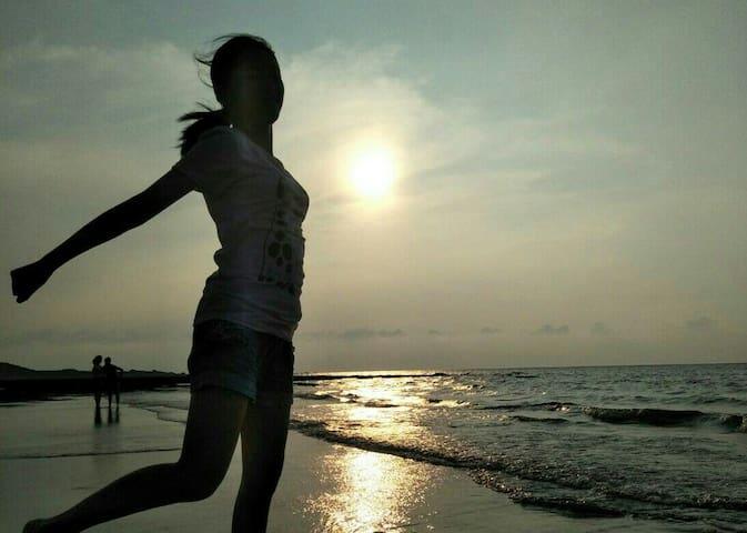 台北(淡水)海景雙人房(泡澡浴缸)距離海灘及公車站牌不用一分鐘