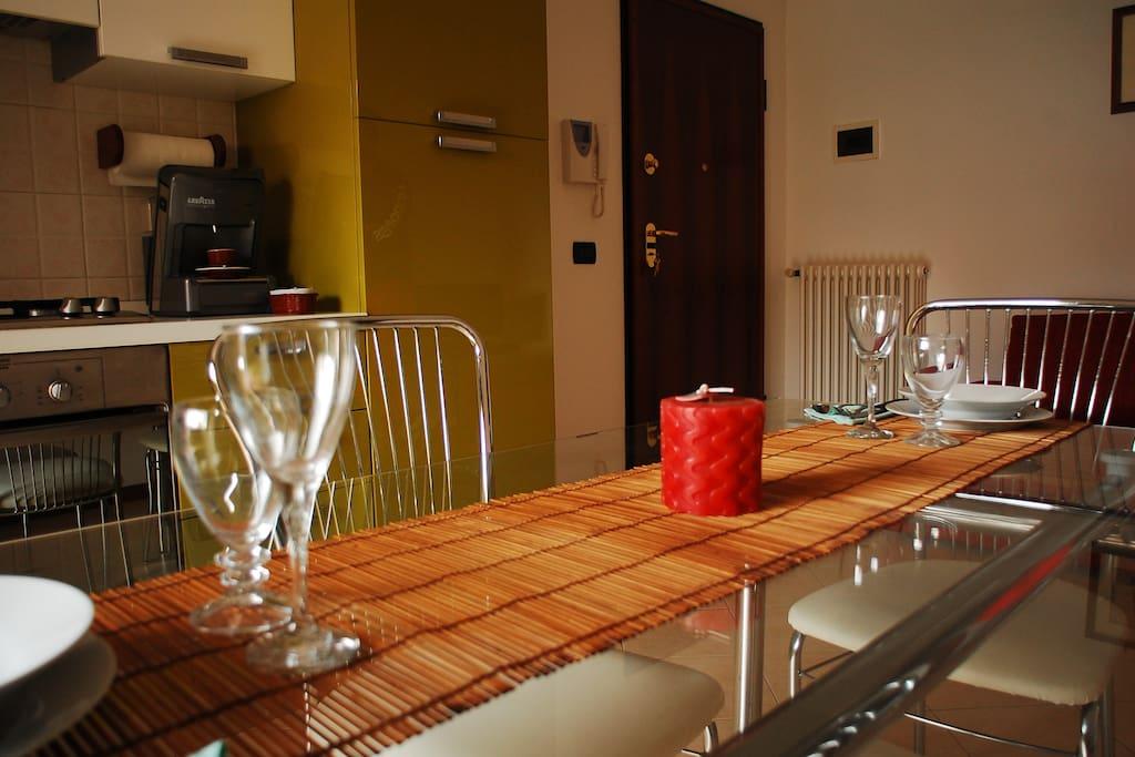 cucina - soggiorno/living room