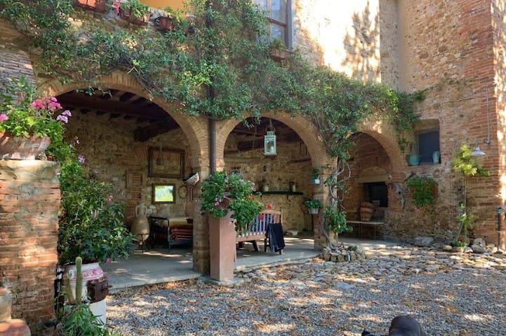 Casa del Gallo, una villa toscana del '600