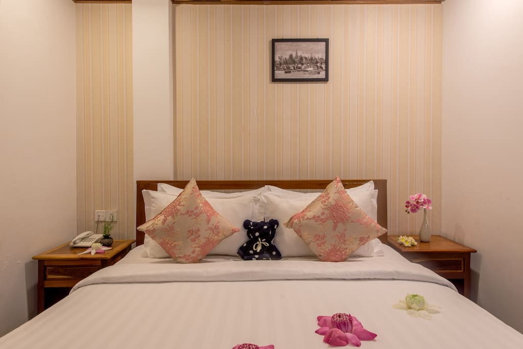 Chayra Angkor Hotel Double bed room