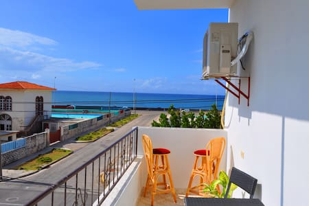 2-Modern Private Oceanfront Apartment