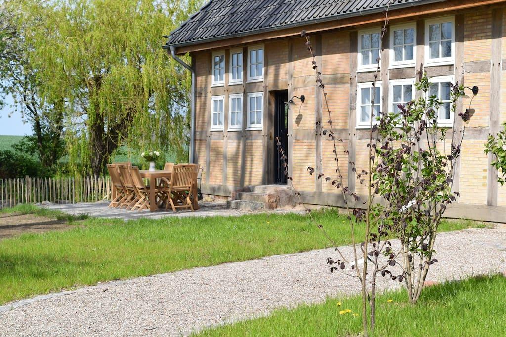 300 m landhaus mit sauna 800 m von der ostsee h user. Black Bedroom Furniture Sets. Home Design Ideas