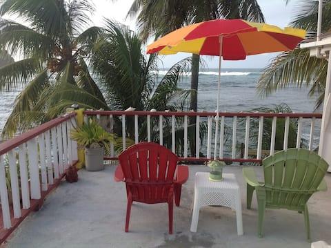 Rainbow Beach Apt. two bedrooms with seaview.
