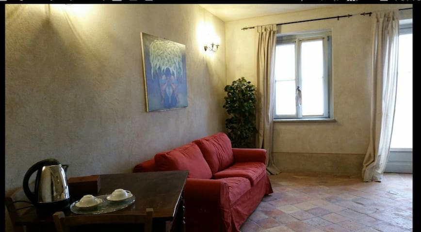 Cozy and charming studio, lake wiew - Avigliana - Wohnung