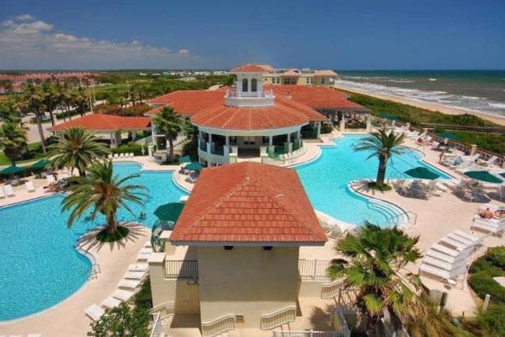 Private beach club (Serenata Beach Club) access available at additional cost. Has 2 pools, fitness center w classes, beach-front restaurant