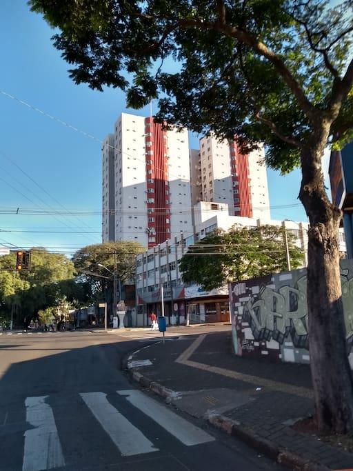 vista externa do prédio