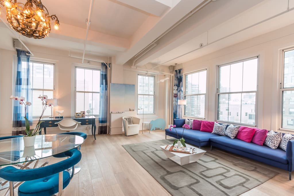 Light Filled Historical Corner Loft Apartments For Rent In New York New Yo
